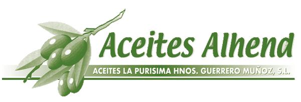 Aceites La Purísima Hermanos Guerrero Muñoz · Aceites Alhend