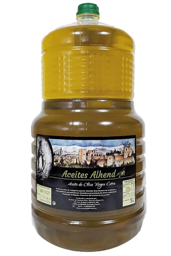 Aceite de Oliva Virgen Extra 5L (4 unidades)